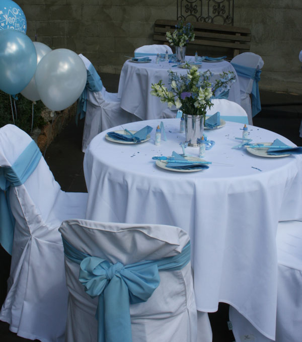 chair covers and sashes available for hire