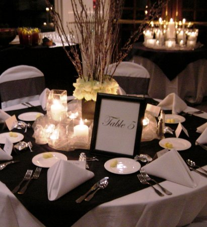 301 moved permanently for Black and white reception tables