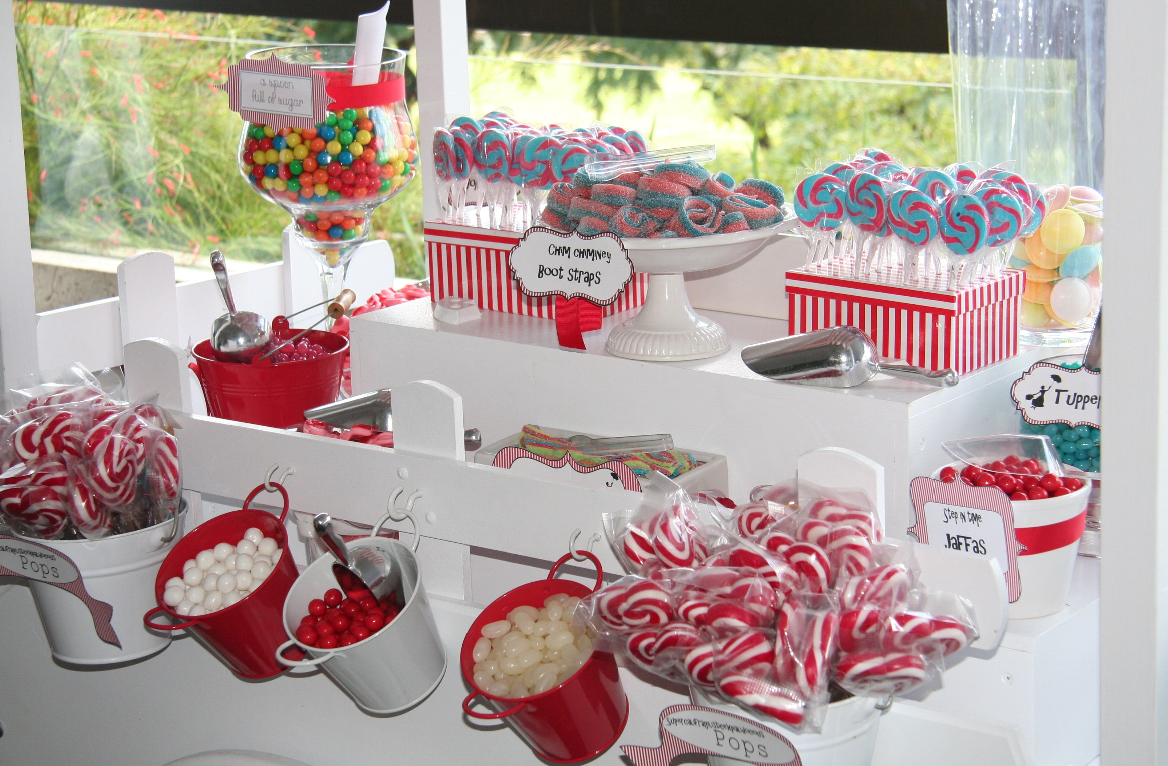 Mary poppins themed candy cart « houseofloulou co